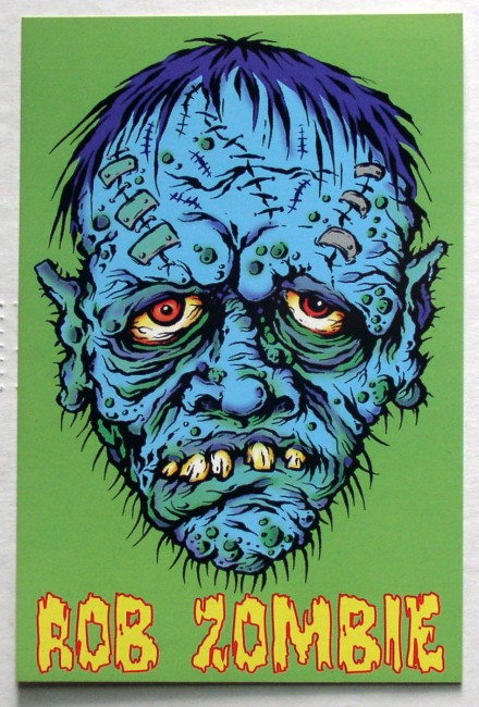 Rob Zombie Living Dead Girl Postcard 1