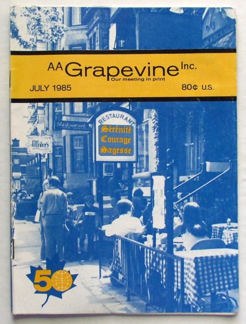 AA Grapevine July 1985