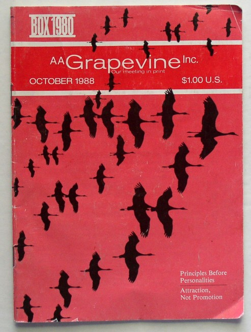 AA Grapevine October 1988