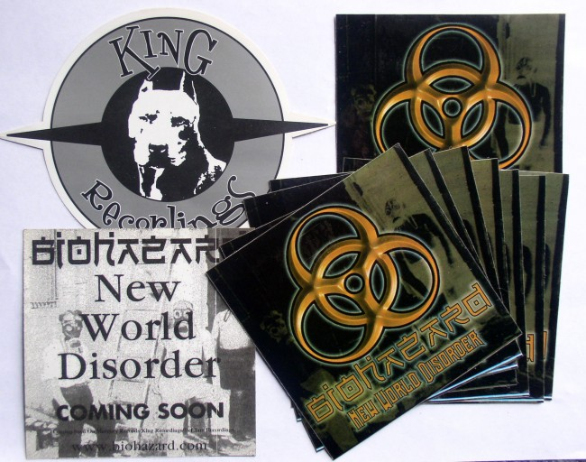 Biohazard Decals