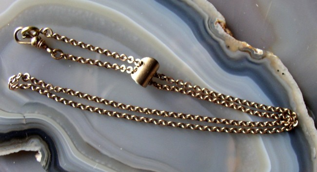 Chain Necklace with slide 3