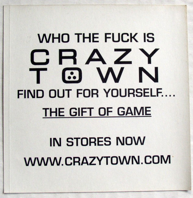 Crazy Town Sticker