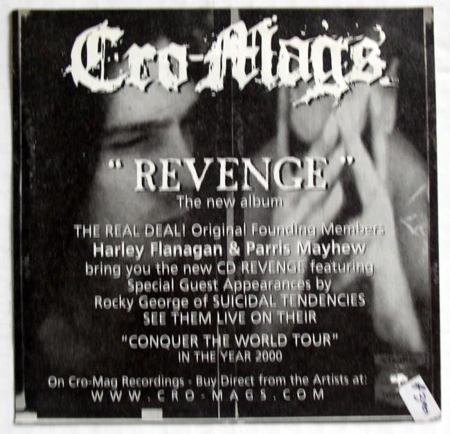 Cro-Mags Sticker