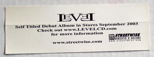 Level Sticker
