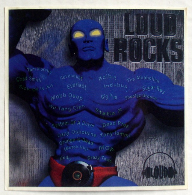 Loud Rocks Sticker