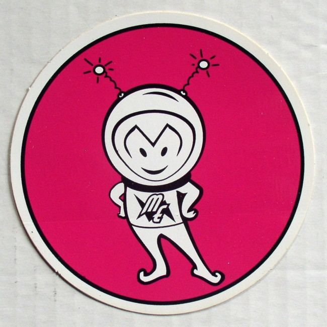 Mars Electric Sticker