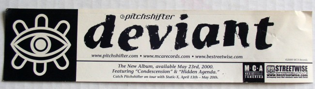 Pitchshifter Sticker