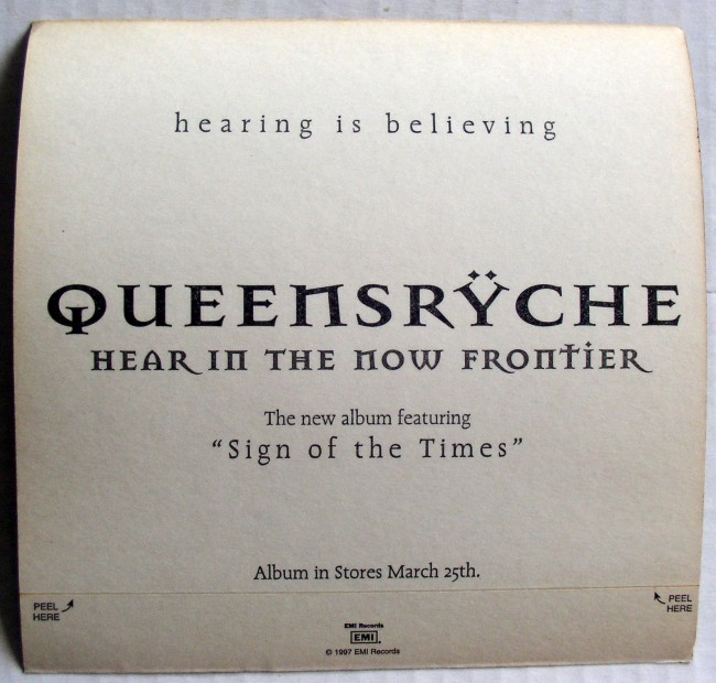 Queensryche Sticker 2