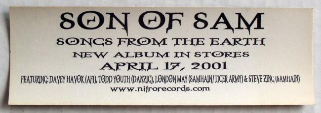 Son Of Sam Sticker