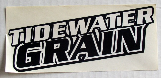 Tidewater Grain Sticker