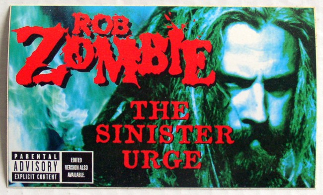 Rob Zombie Sticker