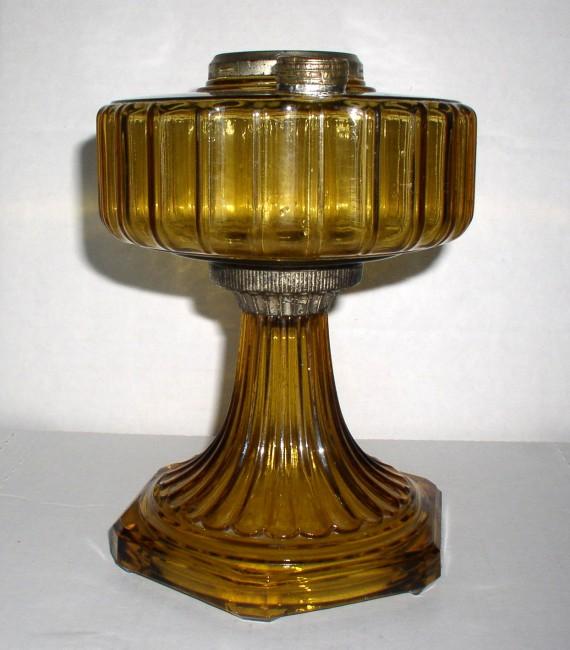 Amber Corinithian Lamp 1