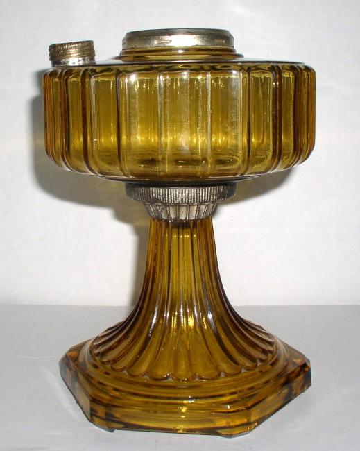 Amber Corinithian Lamp 2