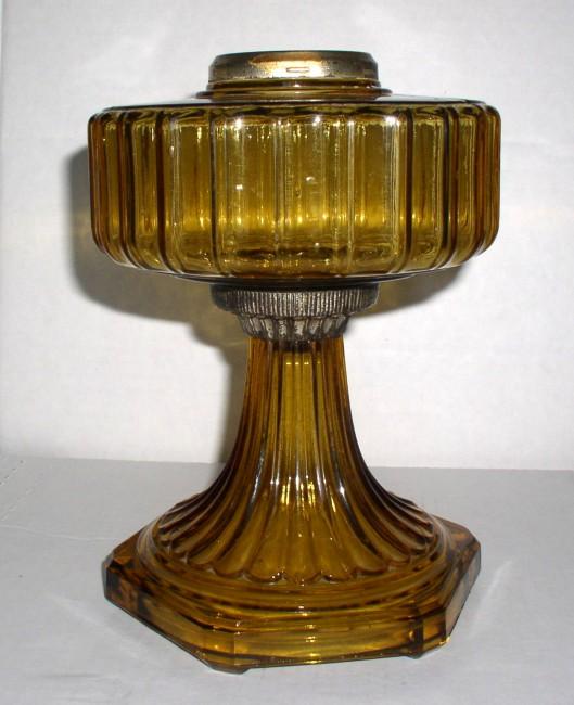 Amber Corinithian Lamp 3