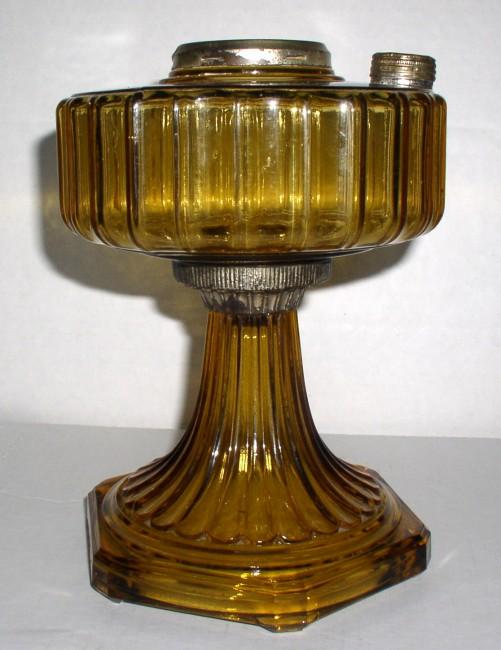 Amber Corinithian Lamp 4