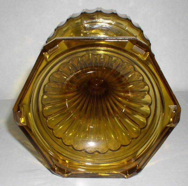Amber Corinithian Lamp 6