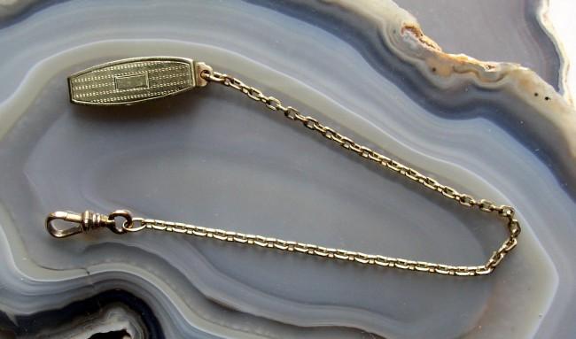 Gold Filled Belt Loop Chain 1