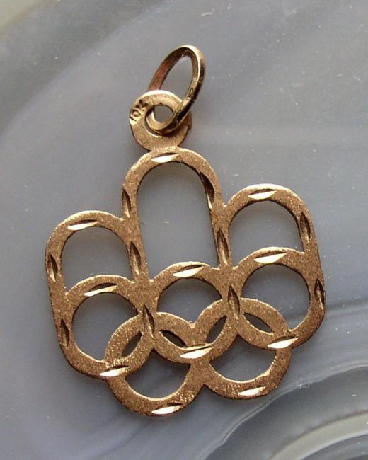 Olympics Pendant 1