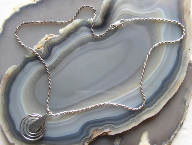 Silver Turquoise Chain 3