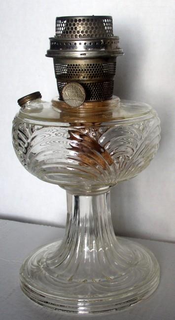 Clear Washington Drape Lamp 1