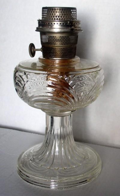 Clear Washington Drape Lamp 2