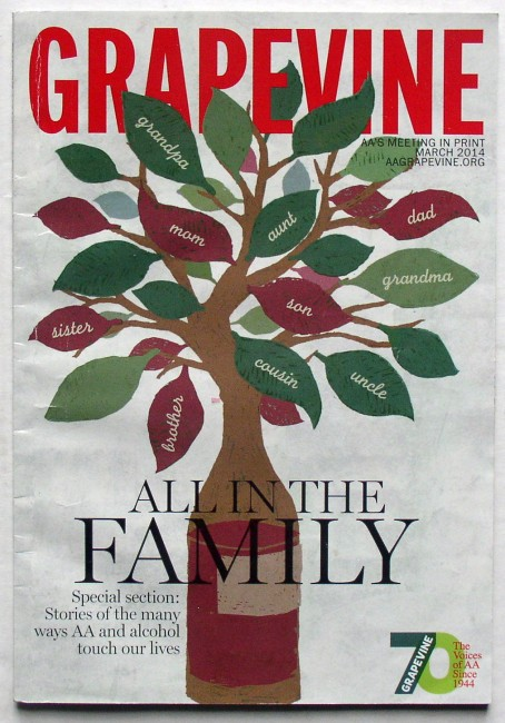 AA Grapevine March 2014