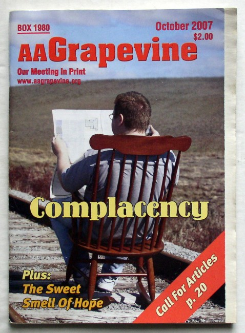 AA Grapevine October 2007