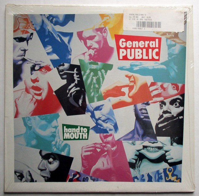 General Public Hand To Mouth LP 1