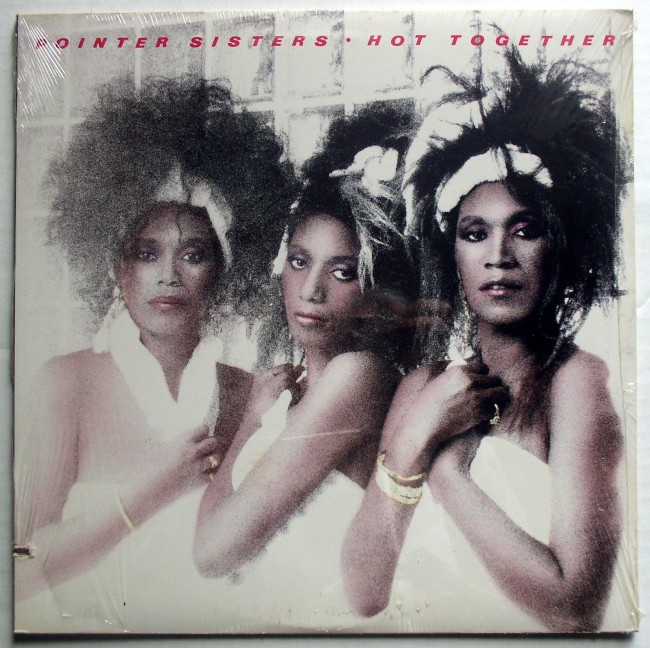 Pointer Sisters Hot Together LP 1
