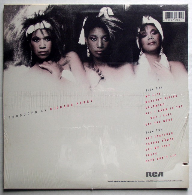 Pointer Sisters Hot Together LP 2