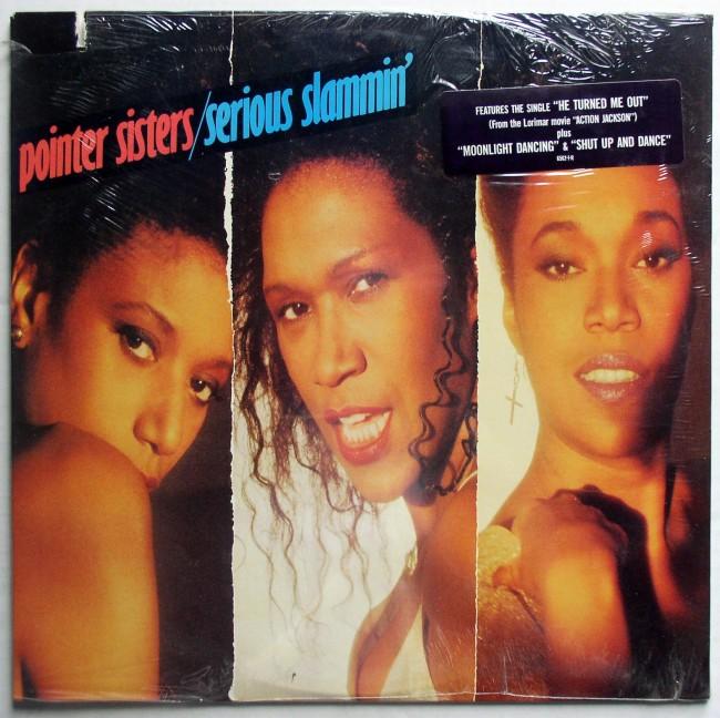 Pointer Sisters Serious Slammin' LP 1
