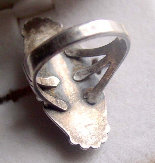 Bell Petrified Wood Ring 2