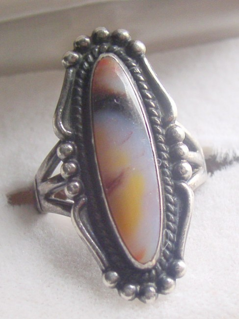 Bell Petrified Wood Ring 3