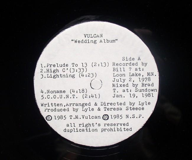 Vulcan Wedding Album Inclusions 2