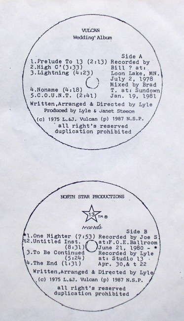 Vulcan Wedding Album Inclusions 3