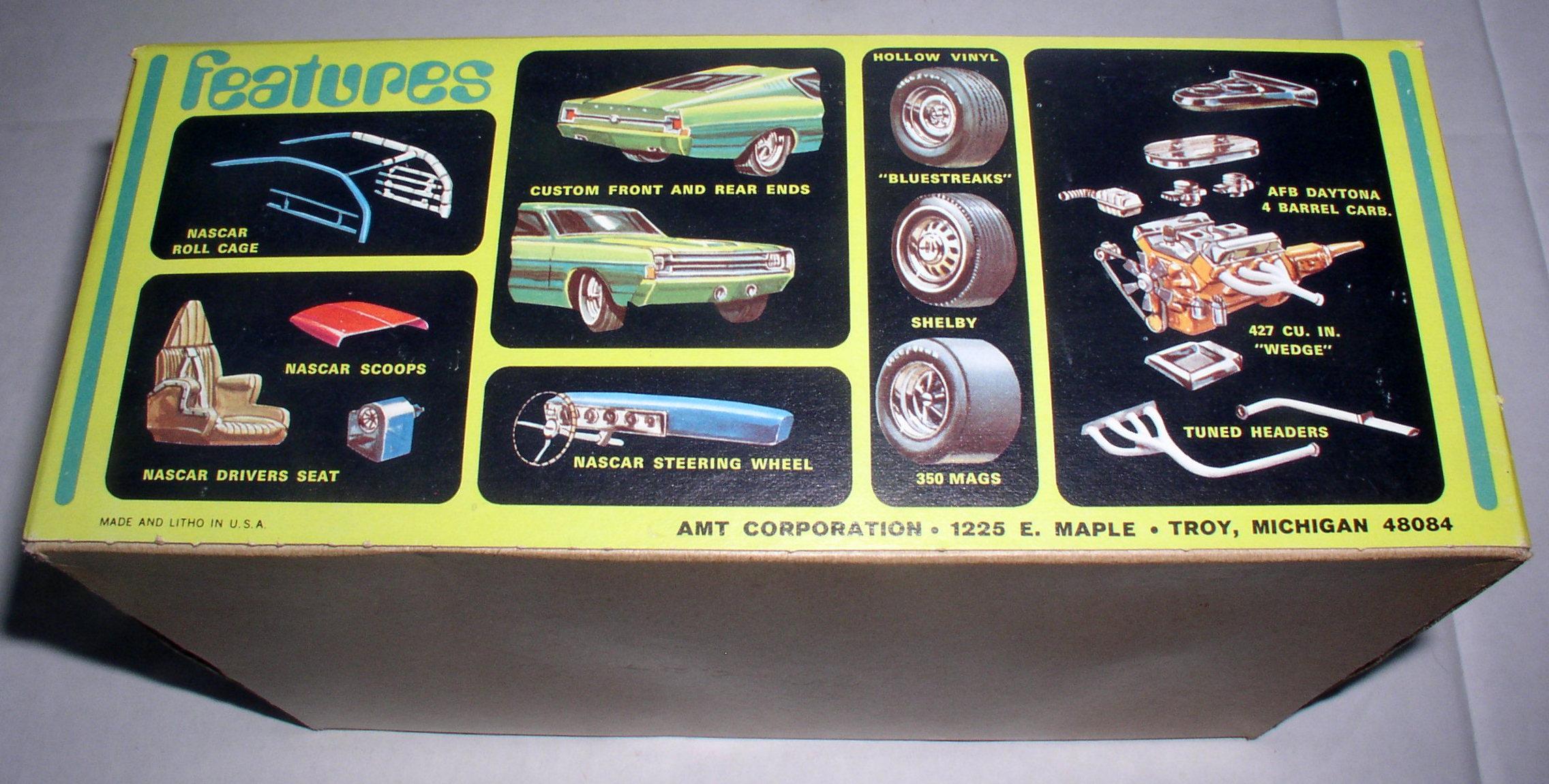 1969 Amt Ford Torino Model Car Kit 1 25 Scale Nib Stock