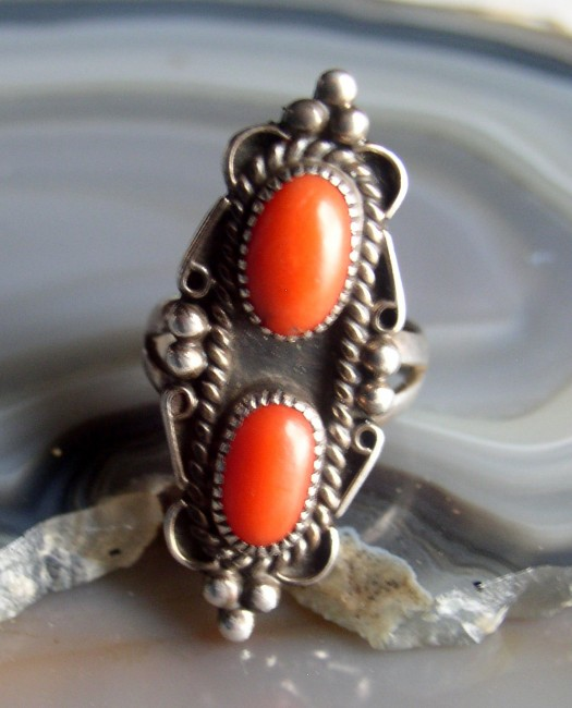 Coral Ring 3