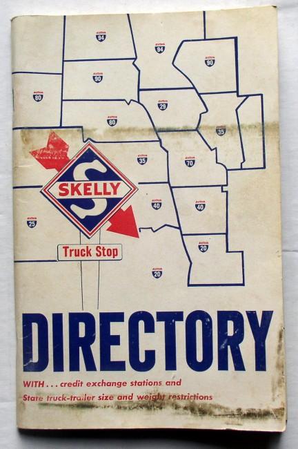 Skelly Truck Stop Directory Circa 1965