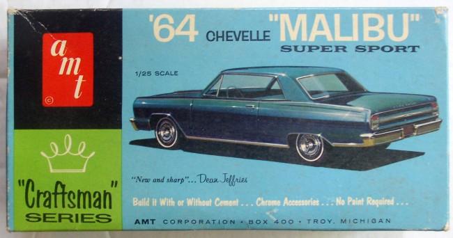 Amt Craftsman 64 Chevelle Malibu Super Sport 1 25 Kit