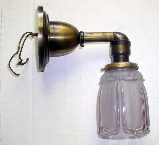 Brass Electric Sconce 1