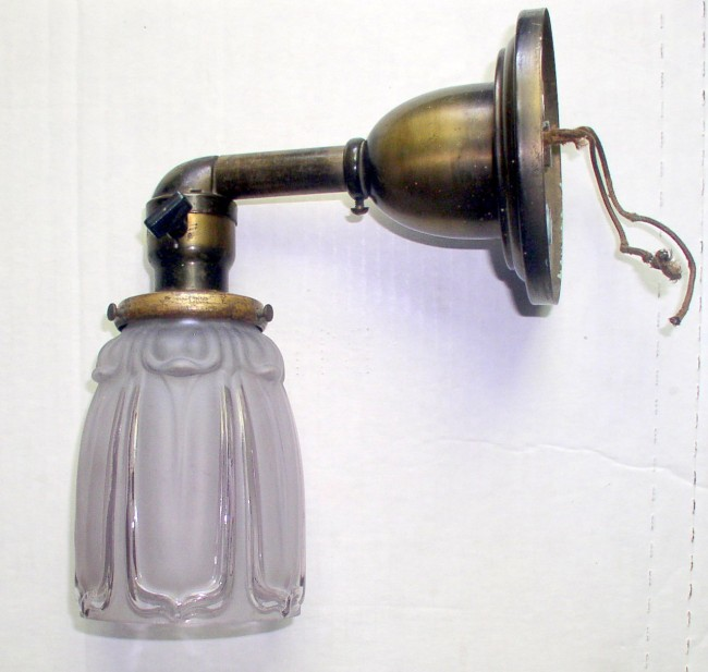 Brass Electric Sconce 2