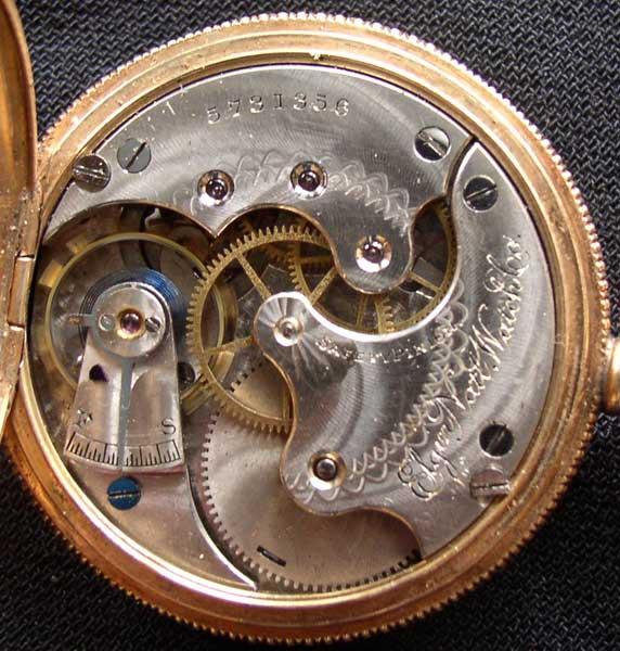 Elgin Gold Watch 7