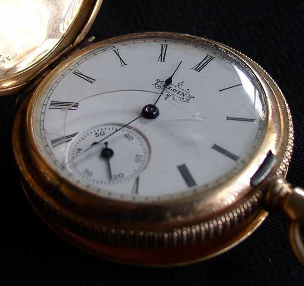 Elgin Gold Watch 8
