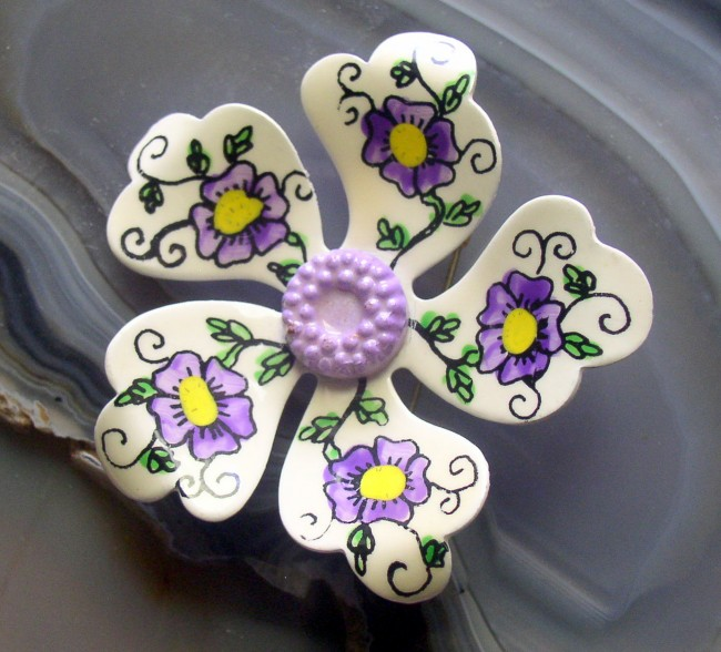 Flower Pin 1