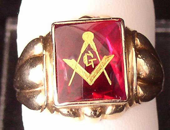 masonic ring 1