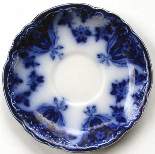 Meakin Blue Saucer 1