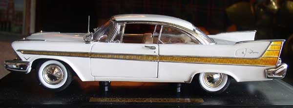 Plymouth Fury Die Cast 2
