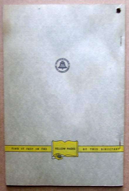 Lakes Region 1956 Telephone Directory 2