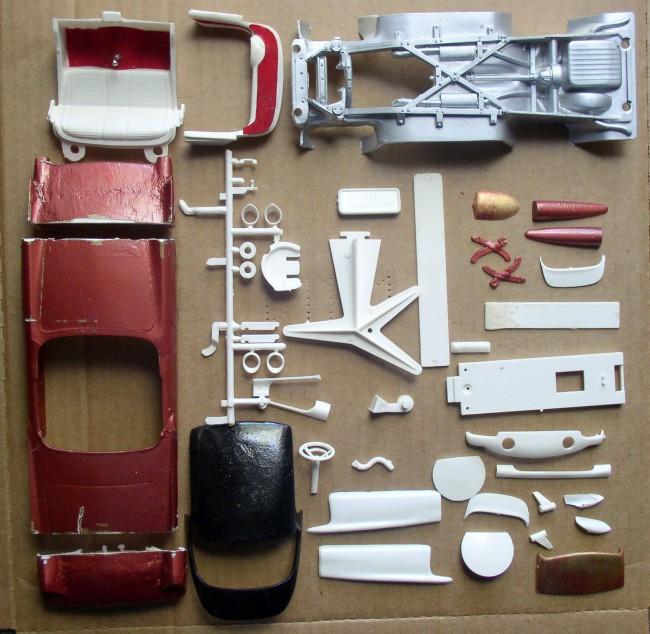 57 T-Bird Body Parts 1