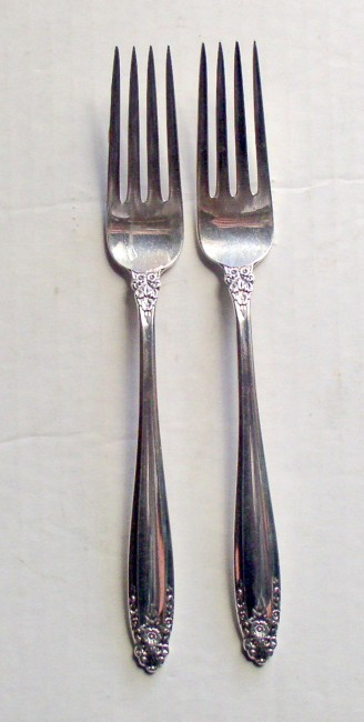 "International 1939 PRELUDE pattern Forks 7 1/4"" 1"